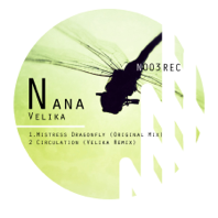 Nana Label Dragonfly